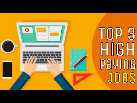 TOP 3 HIGH PAYING JOBS 💰WITHOUT A DEGREE 📚