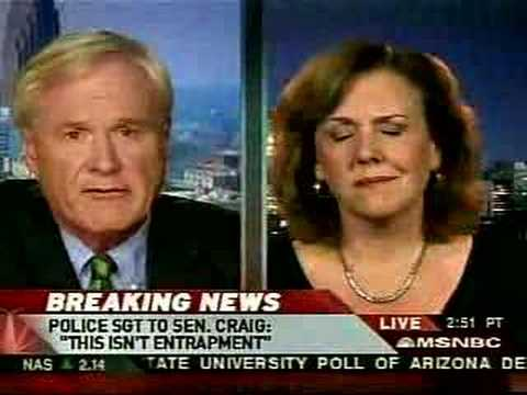 Hardball-Journalists Talk About Larry Craig Arrest
