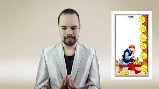 Уроки Таро. Восьмерка Динариев. ДЗ-1. Василий Попов