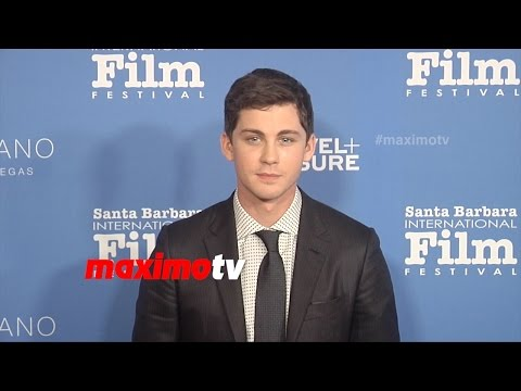 Logan Lerman & Alexandra Daddario | SBIFF Virtuosos Award 2015 | Red ...