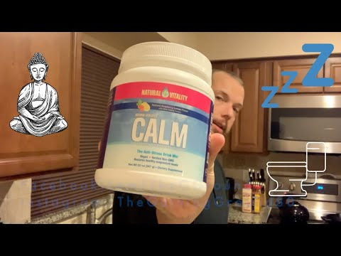 Natural Vitality Calm Anti Stress Magnesium Supplement - I Took It For SEVEN DAYS - Product Review