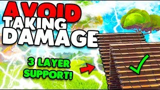 Avoid Taking Damage With This Building Trick! | Win More Fights! | Fortnite Battle Royale