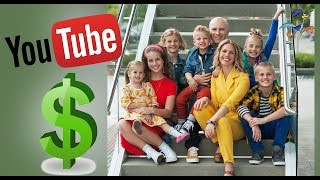 How much does 8 Passengers make on Youtube