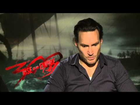 300: Rise of an Empire: Jack O´Connell & Callan Mulvey Official Movie Interview Part 1 of 2