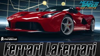 Need For Speed No Limits: Ferrari LaFerrari (MAXXED OUT + Tuning [All Black Edition Parts])