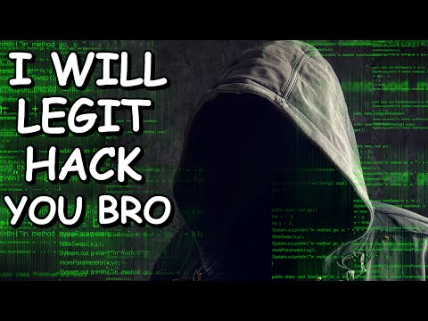 I Will Hack You.. Im A Script Kiddie!