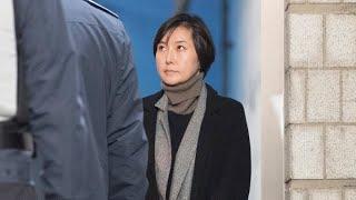 장시호, 구형보다 높은 2년6개월…법정구속 / 연합뉴스TV (YonhapnewsTV)