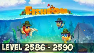 Fishdom level 2586 - 2590 HD