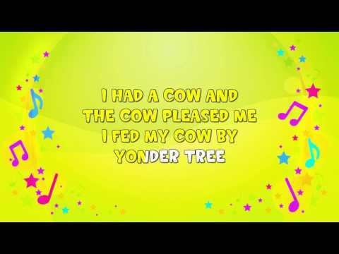 A Farmyard Song | Karaoke | Animals | Nursery Rhyme | KiddieOK
