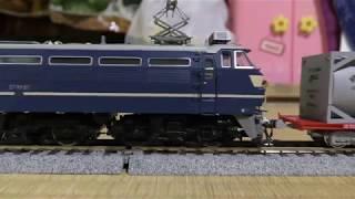【鉄道模型】HOゲージ EF66 27 コキ200とUT17C