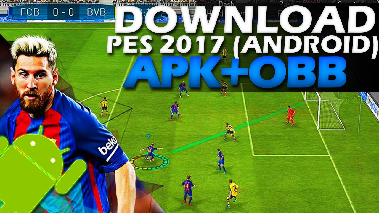 pes 2017 download for android