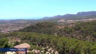 Son Font, Calvià. Residential area in Mallorca.