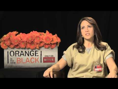▶ Elizabeth Rodriguez's Official 'Orange is the New Black Interview   Celebs com   YouTube 720p