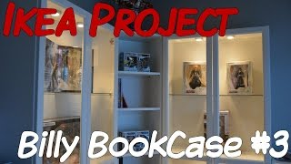 Ikea Project - Billy Bookcase Part 3