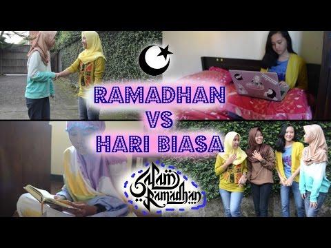 Bulan Ramadhan Vs  Hari Biasa (Indonesian)   Mazieland