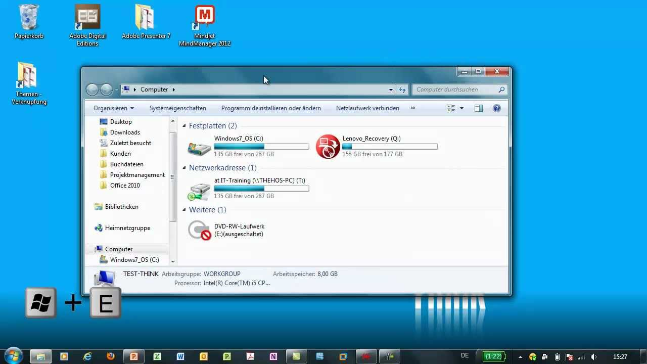 windows 7 favoriten