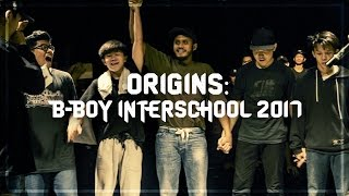 FINAŁ Origins: B-Boy Interschool 2017!