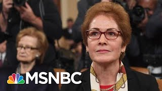 Yovanovitch Gives Dire Warning Of The Degradation Of The State Department Under Trump | MSNBC