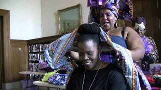 Wrapped In Love Headwrap Party - Video #07