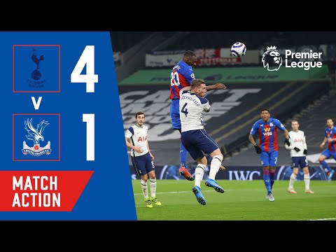 Tottenham Hotspur 4-1 Crystal Palace | Match Action