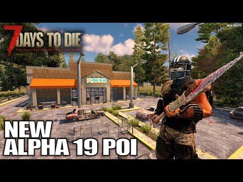 New Alpha 19 POI Ambush | 7 Days to Die Alpha 19 Gameplay | E07