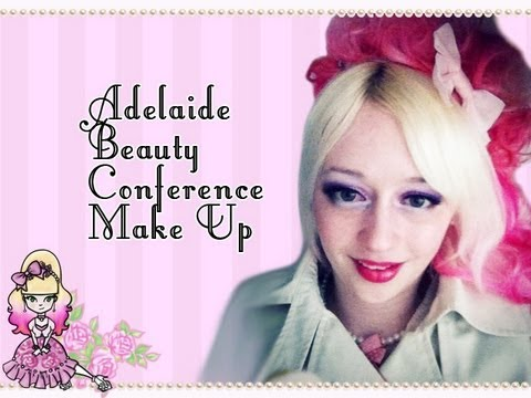 Morning Make Up- Adelaide Beauty Conference - Violet LeBeaux