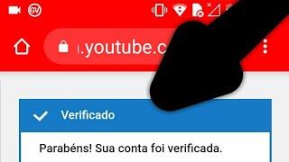 Como verificar conta do youtube sem numero pra poder colocar thumb