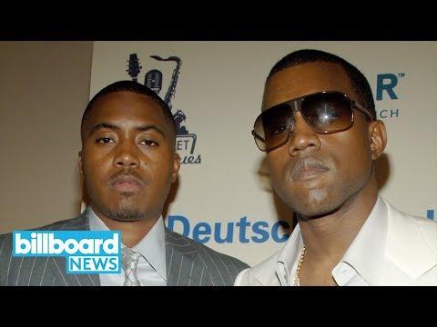 Nas Releasing Kanye West-Produced Album in June | Billboard News