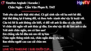 Chân Ngắn - Cẩm Vân Phạm ft. TMT | Share Timeline Aegisub ( Karaoke ) #57