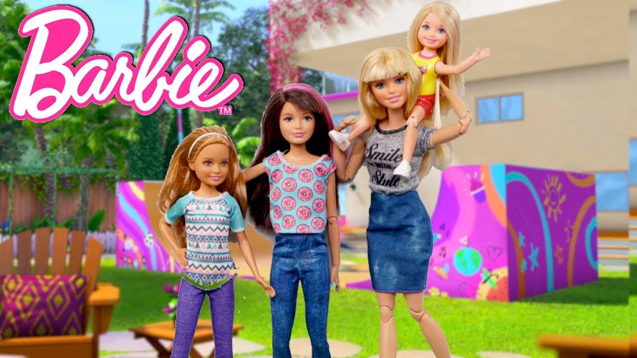 Aventuras de Muñecas Barbie con Juguetes de Titi, Retos y rutinas divertidas
