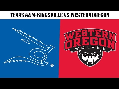 FB: Texas A&MKingsville vs Western Oregon