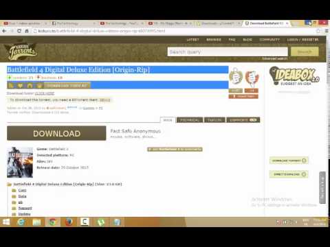[TUTO] How To Download Battlefield4 Free For Pc