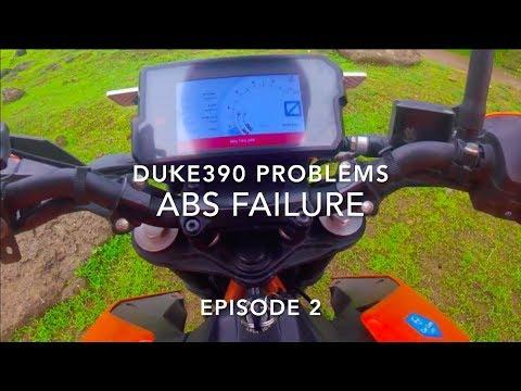 #137 KTM Duke 390 Problems   Episode 2 ABS Failure   2017 2018 Model   Review Cons after 17000Kms