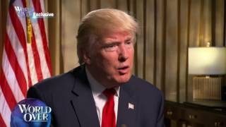 World Over EXCLUSIVE - Donald J. Trump with Raymond Arroyo
