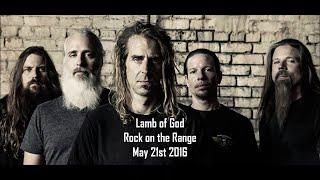 Lamb of God- Rock on the Range 2016 (Complete Set)