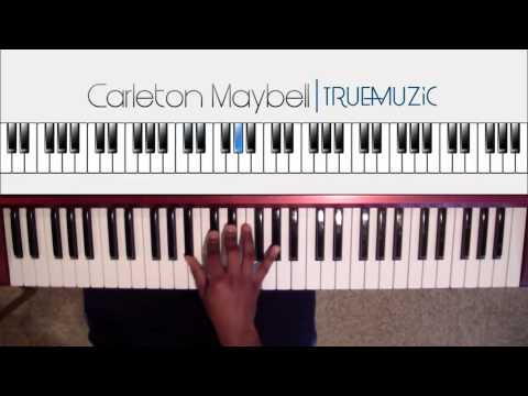 How to play Piece of love (K. Camp) Piano Tutorial