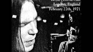 Neil Young The Needle And The Damage Done Royal Hall 1971