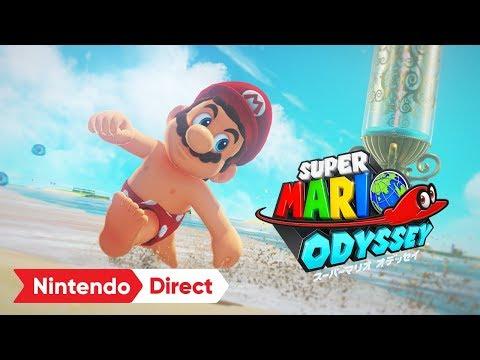 スーパーマリオ オデッセイ [Nintendo Direct 2017.9.14]