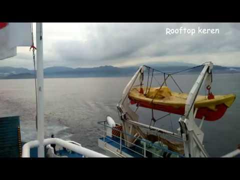 Suasana Dan Fasilitas Kapal Ferry Padang Bai - Lembar || BALI-LOMBOK
