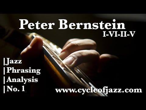 【No.1】Jazz Phrasing Analysis/Peter Bernstein