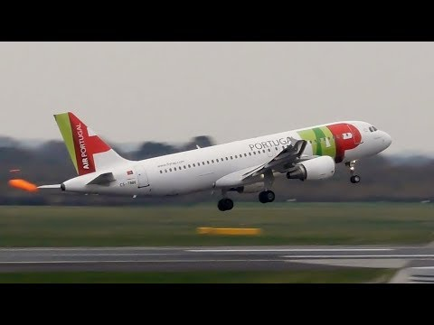 EXTREME ABORTED LANDINGS, GO AROUNDS & CROSSWIND - Storm Deirdre Manchester Airport 15/12/18