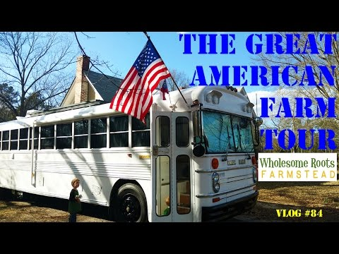 The Great American Farm Tour - Justin Rhodes Visits Wholesome Roots Farmstead!