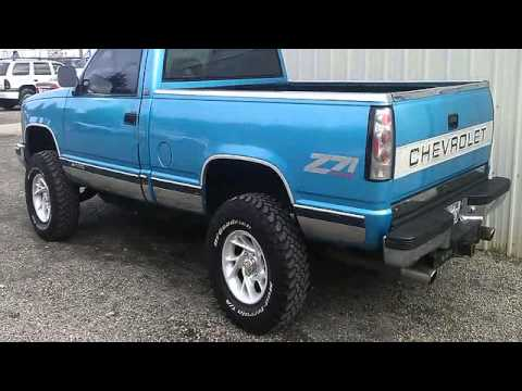 FOR SALE 1994 CHVROLET SILVERADO STEP SIDE 4X4!! ONLY 7 ...