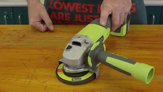 Get To Know Your Angle Grinder - D.I.Y. Basics At Bunnings