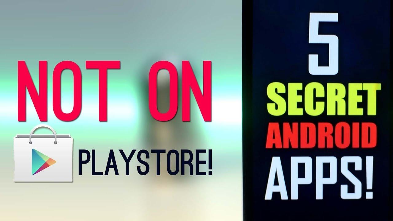 5 Aplikasi Keren yang Tidak ada di Playstore