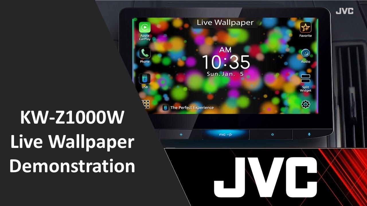 JVC KW-Z1000W 10.1