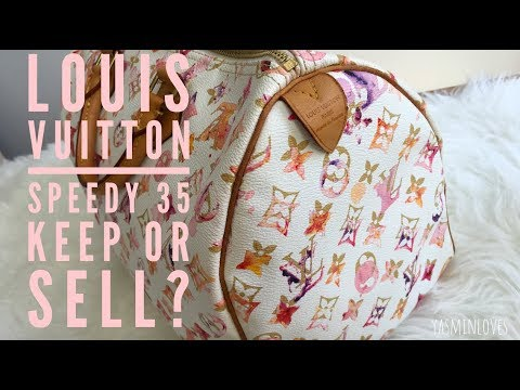 52afd7f3 Louis Vuitton Aquarelle Watercolor Speedy 35 | Keep or Sell?