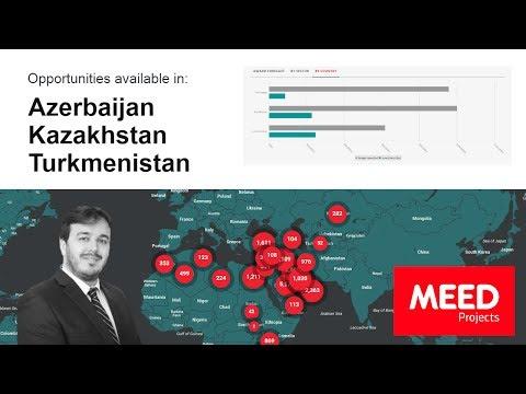 MEED Projects | Azerbaijan, Kazakhstan and Turkmenistan market update