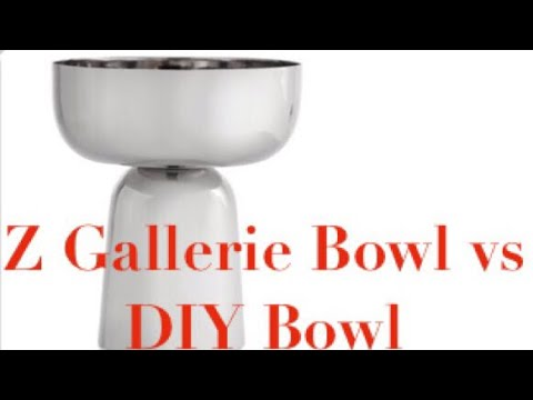 ZGallerie Inspired DIY Glam Home Decor Bowl Elegance For Less With Faithlyn 2018