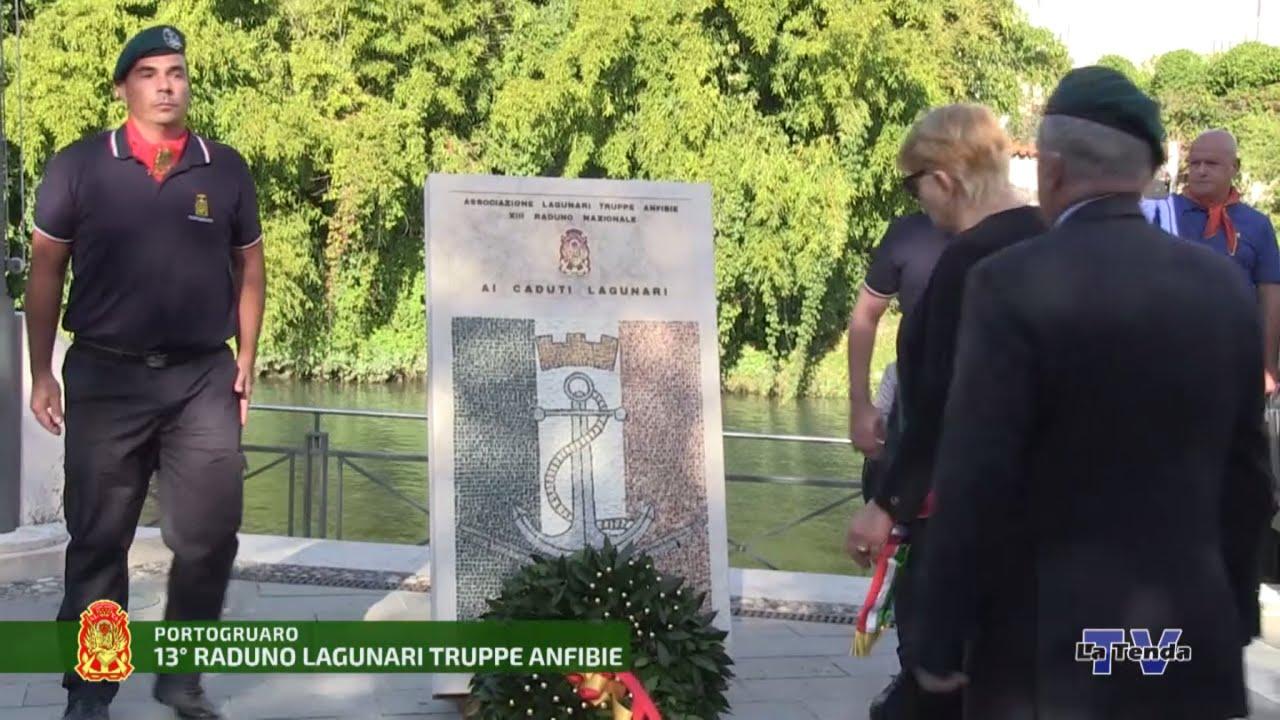 13° Raduno Nazionale Lagunari - Sabato - Alzabandiera e inaugurazione monumento